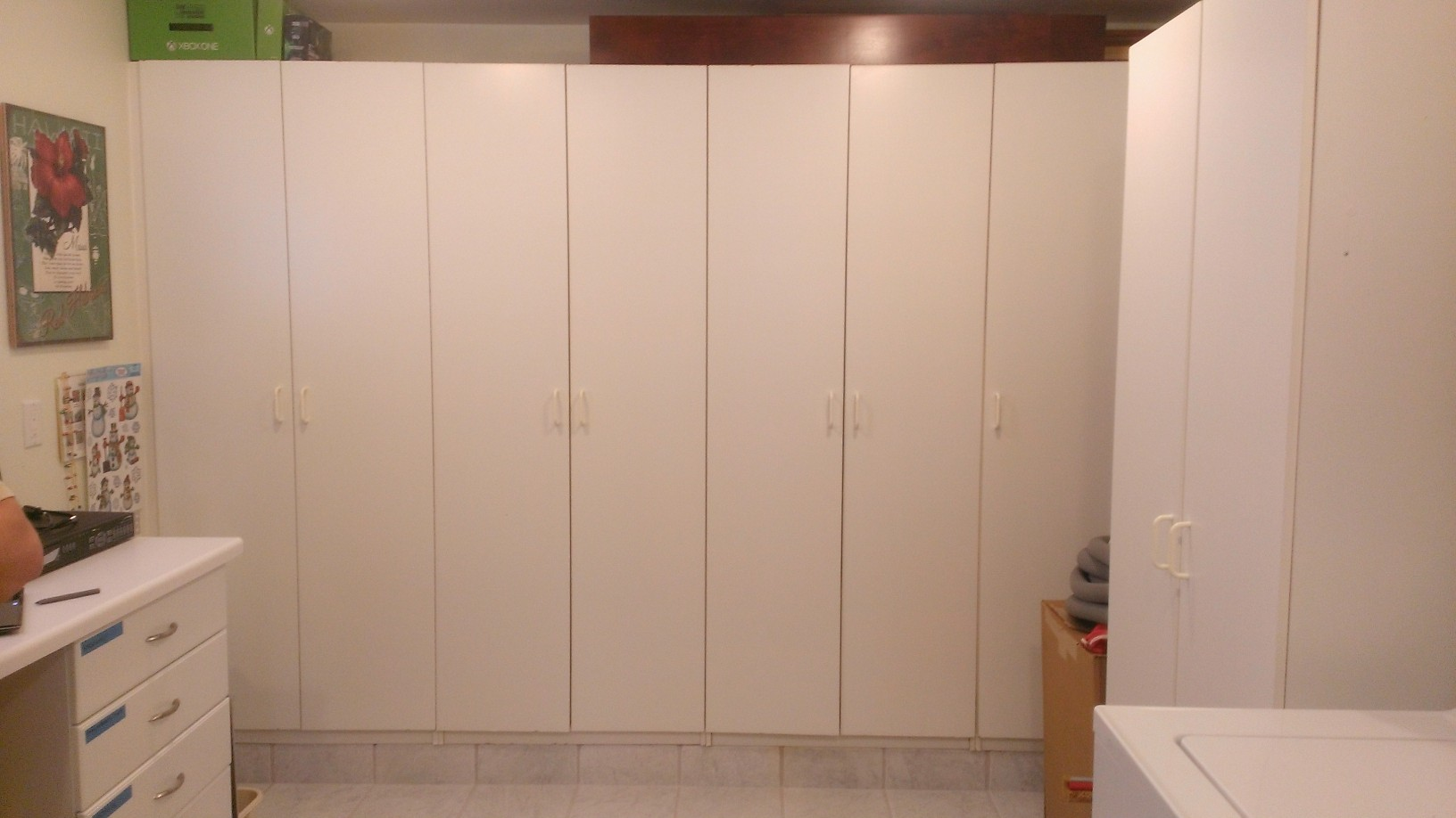 Before: Basic Cabinets