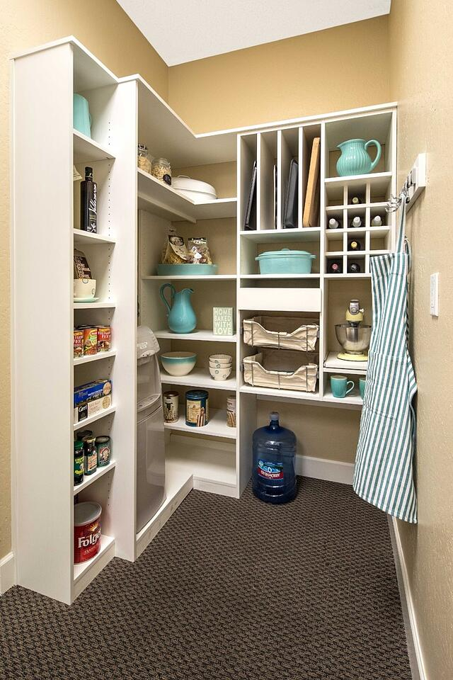 Custom Pantry from Valet Custom Cabinets & Closets