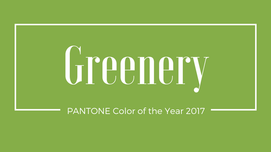 GREENERY PANTONE Color of the Year 2017 15-0343