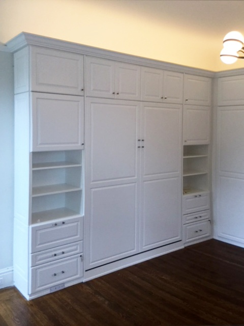 Custom Wall Bed by Valet Custom Cabinets & Closets