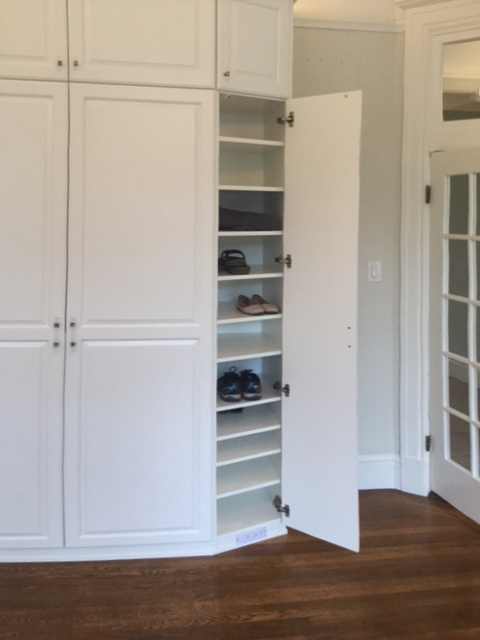 Custom Wardrobe by Valet Custom Cabinets & Closets