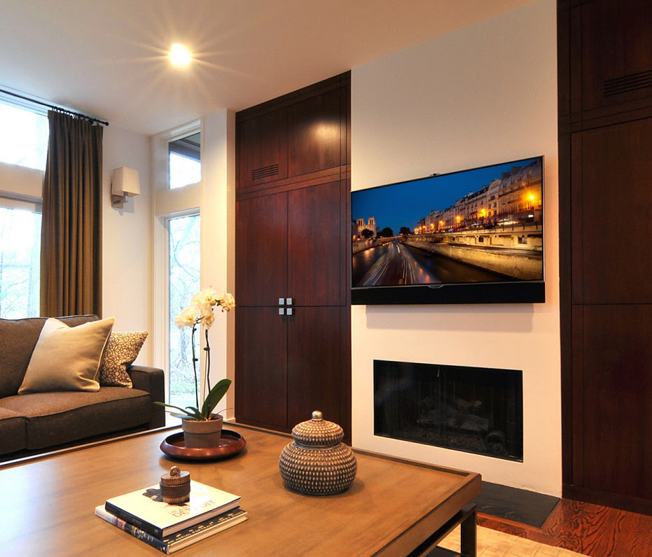 Home entertainment center The Integrated Lifestyle