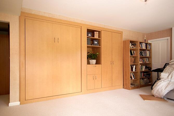 Anigre-Wall-Bed-Closed-for-Basement