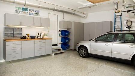 Perfectly Organized Garage