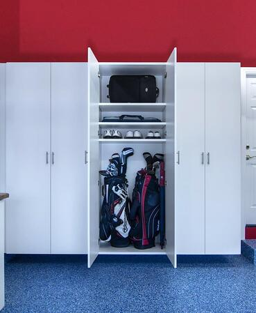 Golf cabinet