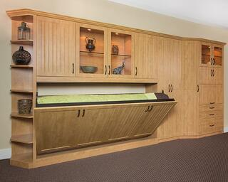 Hortizontal Tilt Wall Bed by Valet Custom Cabinets & Closets