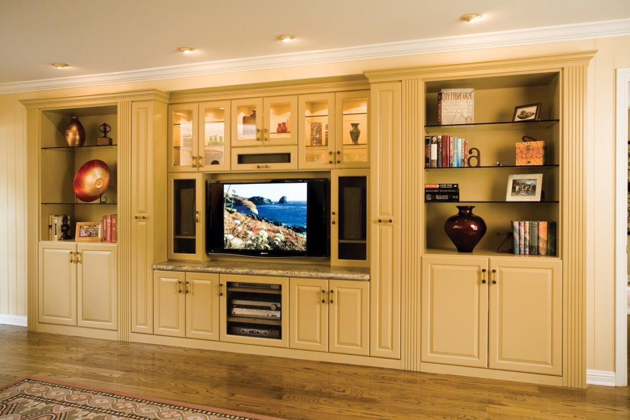 In Wall Entertainment Cabinet Valet Custom Full Wall Cabinetry Luxury Home Entertainment Centers