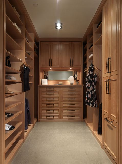Most custom closets incorporate drawers in some fashion make them work for you