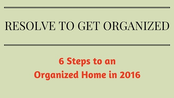 NEW YEAR'S RESOLUTIONS FOR YOUR HOME