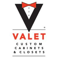 Valet Logo Vertical White