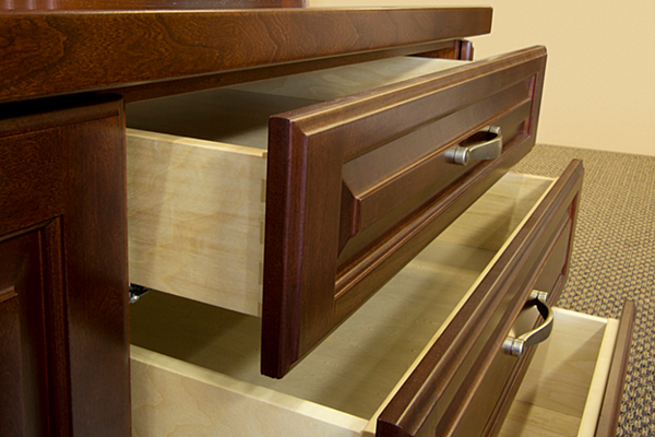 Stack of Drawers Valet Custom Cabinets and Closets