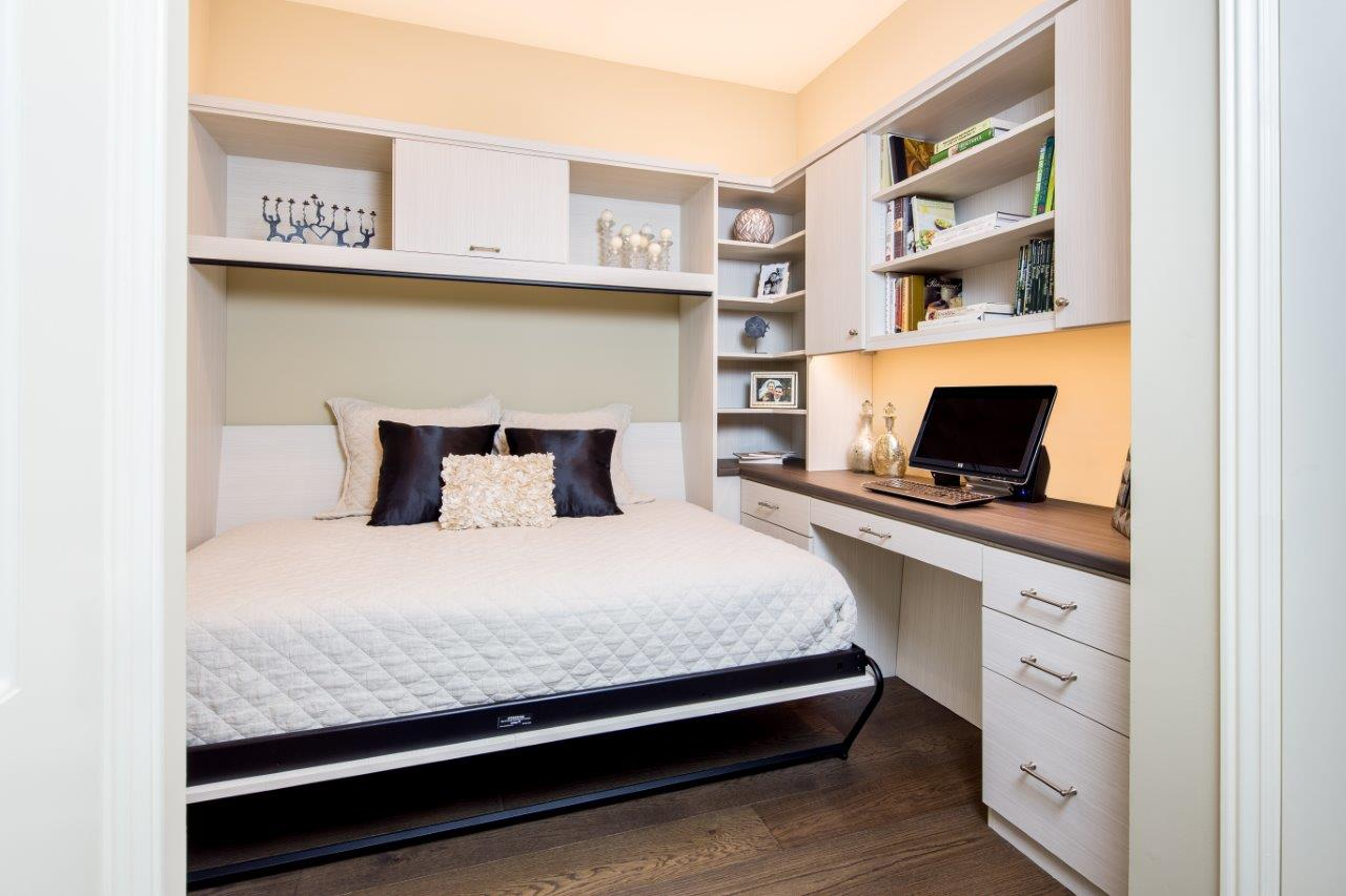 Wall Bed by Valet Custom Cabinets and Closets