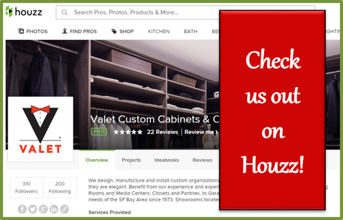 Follow Valet on Houzz
