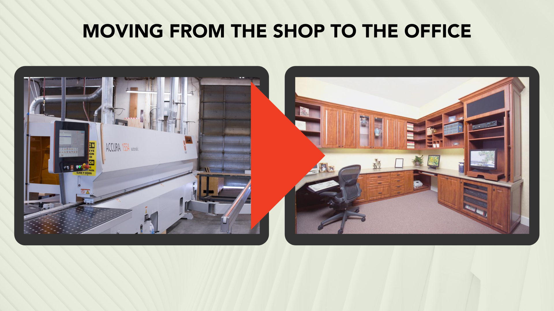 Moving From Manufacturing to Office